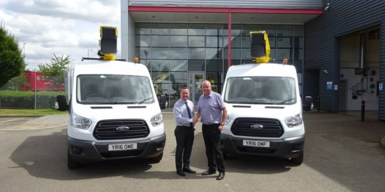 New 3.5 ton Ford Transit Vans