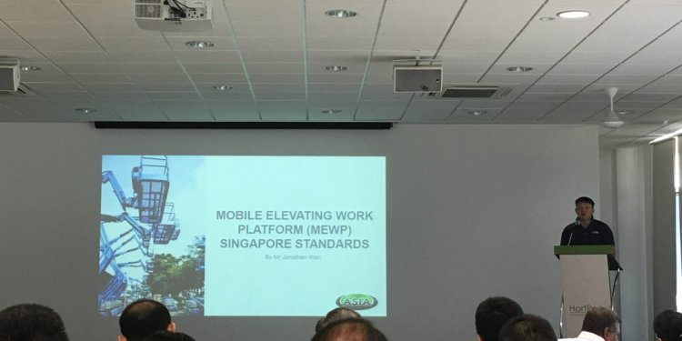 Of Mobile Elevating Work