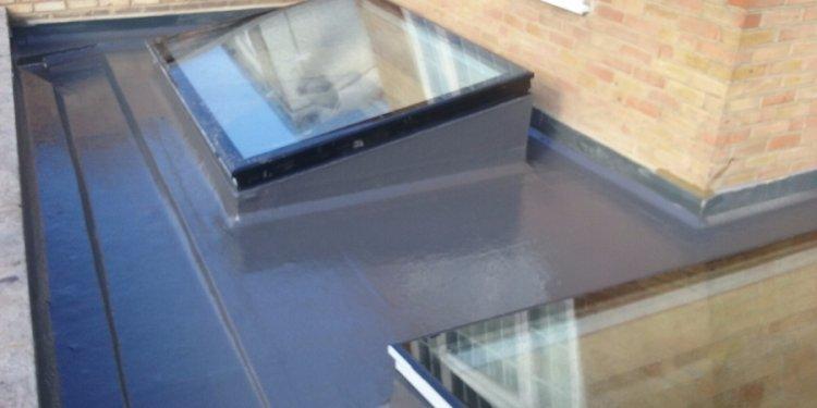 New internal gulley flat roof