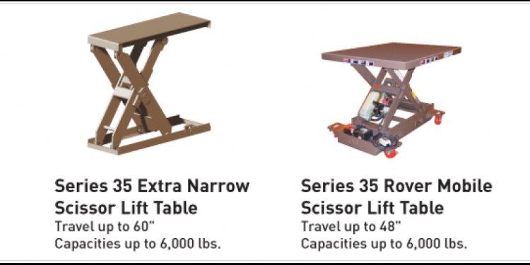 Series 35 Scissor Lift Models